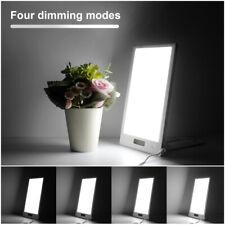 12000 LUX Lichttherapie SAD Tageslichtlampe Lampe mit 5 Timer Tageslicht Dimmbar
