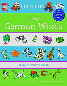 First Words: Oxford First German Words (Paperback)  FREE shipping $35