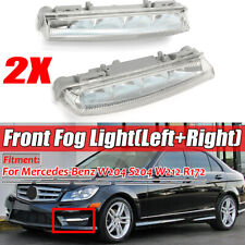 2Pcs Front Bumper DRL Fog Light For Mercedes-Benz W204 W212 C250 C280 C350 E350