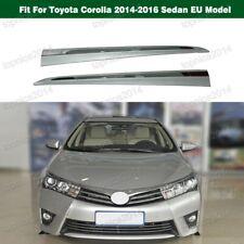 Front Door Side Chrome Molding Trim For Toyota Corolla 2014-2016 Sedan EU Model