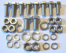 MGB Engine Mountings Rubber Bumper 1800 Fitting Kit - (Stainless Steel).