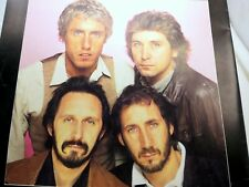 THE WHO Official Program 1980  CONCERT PROGRAM BOOK BROCHURE
