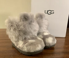 UGG TODDLERS LUV CLASSIC MINI II CHARCOAL SIZE 8 1106897T BRAND NEW