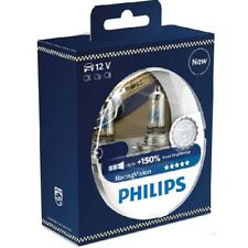 Philips 12342RVS2 Racing Vision Car Headlight Bulb 150% Extra Light H4 Twin Pack