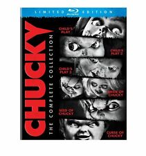 Blu Ray CHUCKY complete collection. Child's Play 1 2 3 4 5 6. UK compatible. New