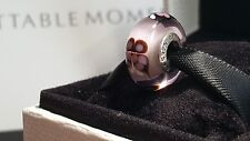 New Authentic Pandora pink butterfly kisses murano charm S925 ALE #791621