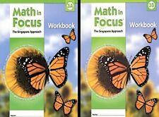 Grade 3 Math in Focus Student Workbook Set 3A & 3B Singapore Approach 2009