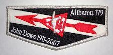 Alibamu Lodge 179 John Dowe Scholarship Fund Doner Flap Tukabatchee Area Council