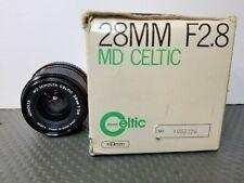 Minolta 28mm f/2.8 MD Celtic Manual Focus Lens