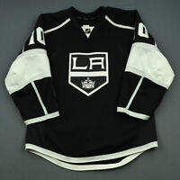 2014-15 Mike Richards Los Angeles Kings Game Used Worn Hockey Jersey! MeiGray
