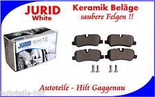 JURID White Keramik Bremsbeläge hinten LAND ROVER Discovery Range Rover Sport