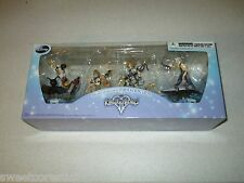 Kingdom Hearts II Square Formation Arts Disney Black Label Collectors Set Of 4