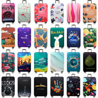 "18"" 22"" 24"" 28"" 32"" Elastic Luggage Suitcase Bags Cover Protector Anti scratch"