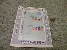 Microscale decals N 60-4082 CSX Presidential Tour Dash8-40CW locos 1992+   E36