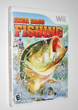 Wii Sega Bass Fishing Game Rated E Everyone