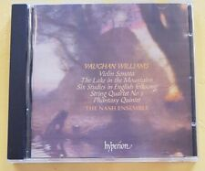 Vaughan Williams: Violin Sonata; The Lake in the Mountains CD