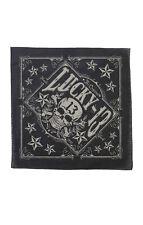 Lucky 13 bandana TOMBSTONE skull and stars logo Motorcycle Biker Hot Rod Tattoo