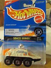 Hot Wheels Radar Ranger Space Series White