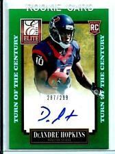 2013 Elite Turn Of The Century AUTO *Rookie* DeAndre Hopkins D # 287/299 Texans