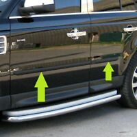 Side body mouldings rubbing strip door protectors Range Rover Sport L320 2005 on