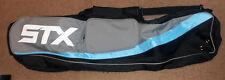 "STX 42"" Lacrosse / Field Hockey Gear Bag BRAND NEW Black Blue Gray Grey"