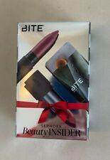 ~ Nwt Sephora Beauty Insider Birthday Bite Lip Set- Lip Crayon & Agave Lip Balm~