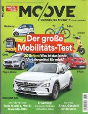 ams MOOVE 1/2019 Auto Motor Sport Beilage Tesla Model 3 Mini E MB EQC Mobil-Test