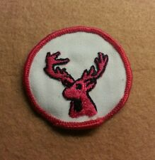 BSA  PATROL MEDALLION PATCH - STAG - 1972 - 1989  - PRE-OWNED   A00350