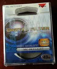 KENKO 49mm Digital Filter MC Skylight for NIKON CANON etc.