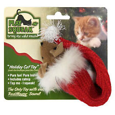 Play-N-Squeak Stocking  Stuffer Cat Toy
