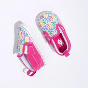 Vans Infant/Crib Slip-On V Rainbow Carbart True White VN0A2XSL0GW