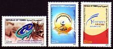 Yemen Republic 2004 ** Mi.291/93 Kommunikation Internet Communication