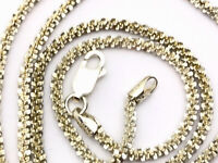 Retro Sterling Silver Snake Chain Necklace with Puzzle piece Pendant   Possibilities I Am