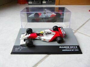 Mclaren Ford MP4/8 Ayrton Senna #8 Australia Gp 1993 Marlboro Altaya 1/43 F1