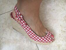 Beautiful Christian Louboutin Sandals Shoes Wedges Size 40 UK 7