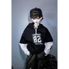 "Black 82# Hoody T Shirt Sports Outfits For 1/3 24"" Tall BJD AOD AS SD DD DK Doll"