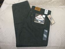 NWT VINTAGE LEVI'S 540 RELAXED FIT OLIVE JEANS MEN'S SZ 42 x 30 -USA MADE! G5134