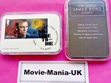 Casino Royal, GB 2020, James Bond Stamps Daniel Craig,