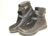 Teva 6312 Womens 8 39 Black Leather Suede Waterproof Ankle Comfort Boots