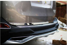 Steel Tailgate Tail Rear Bottom lid cover Trim 1* For Toyota RAV4 2013 2014 2015