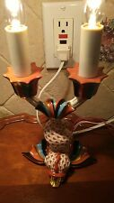 Herend Rust Fishnet Dolphin Lamp