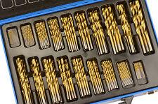 Juego Grande de Brocas 1 mm - 10 mm HSS Titanio - Bgs technic 1994
