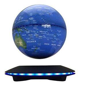 Magnetic Levitation Floating Globe 6'' Maglev Globes Anti Gravity Rotating Map