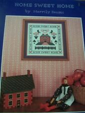 Home Sweet Home  Cross Stitch PATTERN Leaflet/Booklet