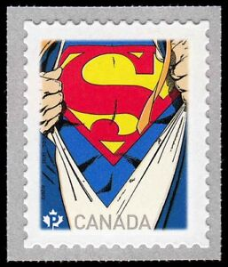 Canada 2013 Superman Strip COIL Stamp Comic Book Character  MNH