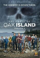 The Curse of Oak Island: Season 2 (DVD, WS, 2015, 2-Disc Set) NEW