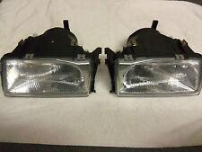 2- AUDI 100, RV Headlights 1.8l Pt#'s 1AH 004 089-071 & 081 Hella Headlamps- NEW