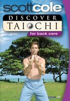 SCOTT COLE DISCOVER TAI CHI FOR BACK CARE New Sealed DVD