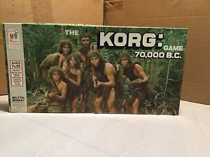 Vintage The KORG:70,000 B.C. Board Game Milton Bradley/Hanna-Barbera 1974 **NICE