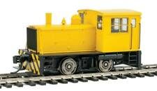 Walthers-Plymouth ML-8 Industrial Switcher - DCC only -- Yellow with Stripes - H